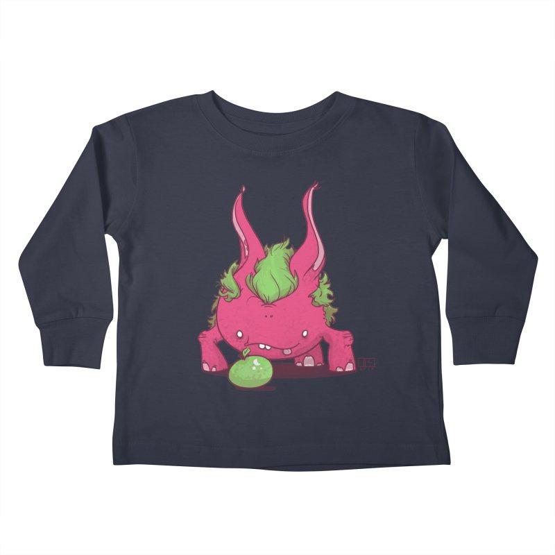 The Jenna Monster Kids Toddler Longsleeve T-Shirt by march1studios's Artist Shop