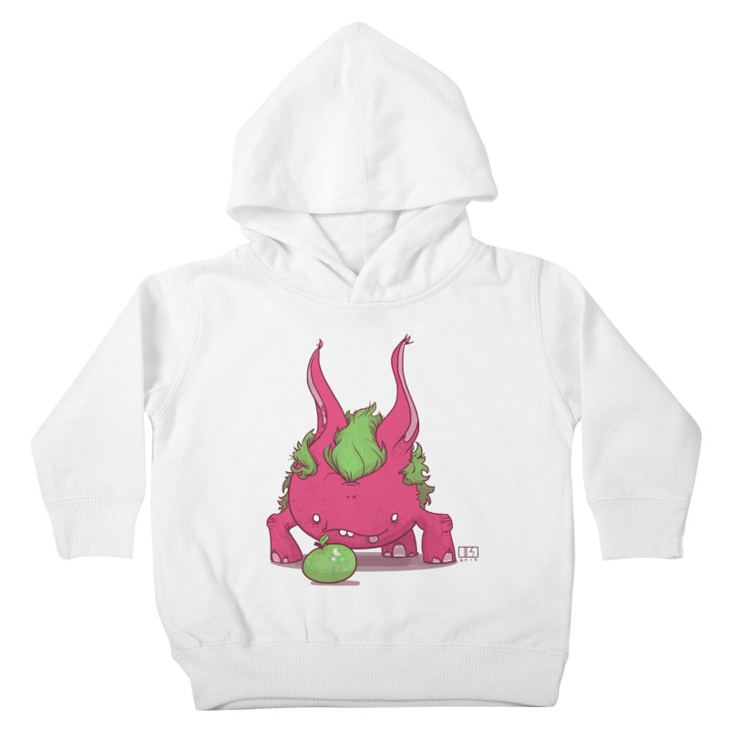 The Jenna Monster Kids Toddler Pullover Hoody by march1studios's Artist Shop