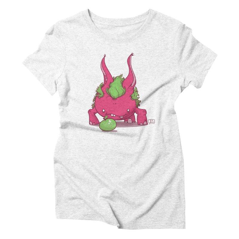 The Jenna Monster Women's Triblend T-shirt by march1studios's Artist Shop