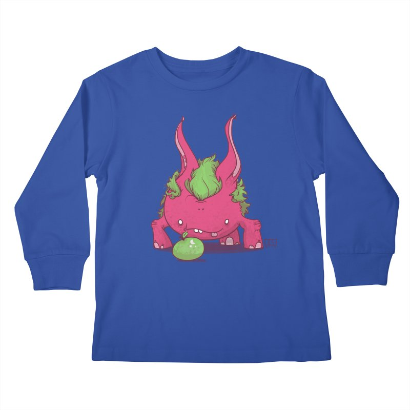 The Jenna Monster Kids Longsleeve T-Shirt by march1studios's Artist Shop