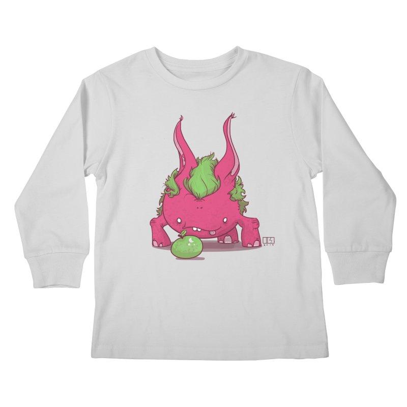 The Jenna Monster Kids Longsleeve T-Shirt by march1studios's Artist Shop