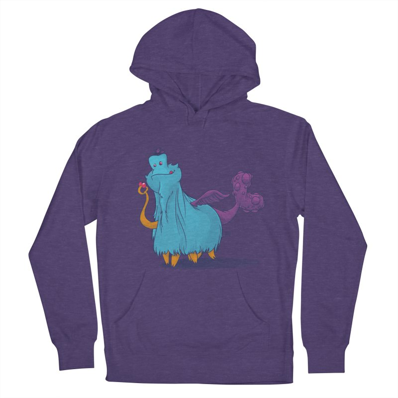 The Fluey Monster Men's Pullover Hoody by march1studios's Artist Shop