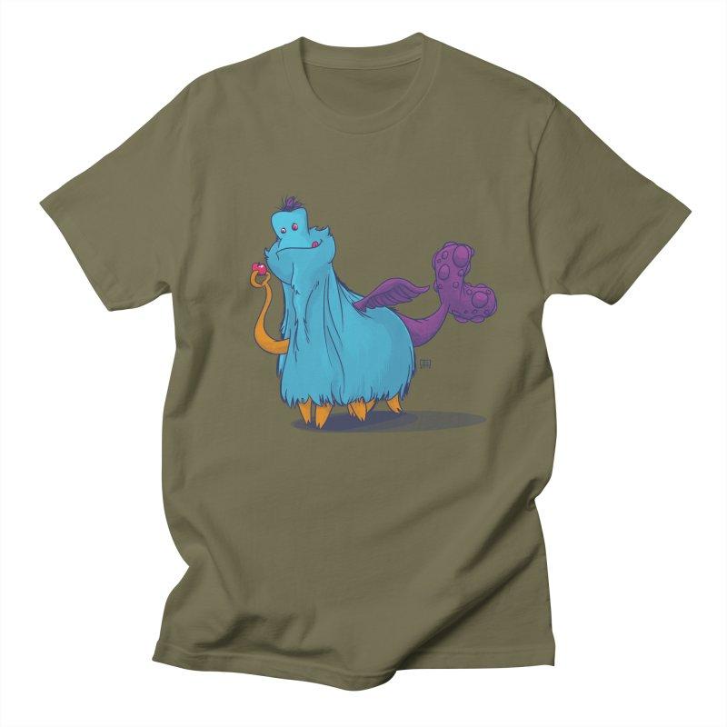 The Fluey Monster Women's Unisex T-Shirt by march1studios's Artist Shop