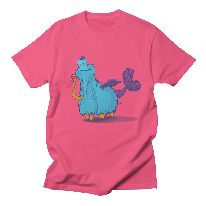 The Fluey Monster Men's T-shirt by march1studios's Artist Shop