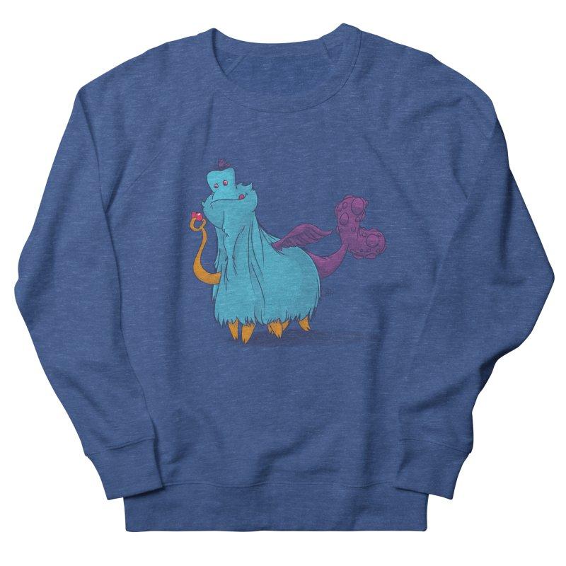 The Fluey Monster Women's Sweatshirt by march1studios's Artist Shop