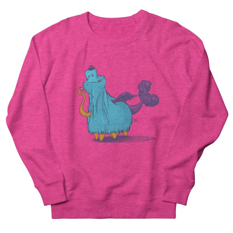 The Fluey Monster Men's Sweatshirt by march1studios's Artist Shop