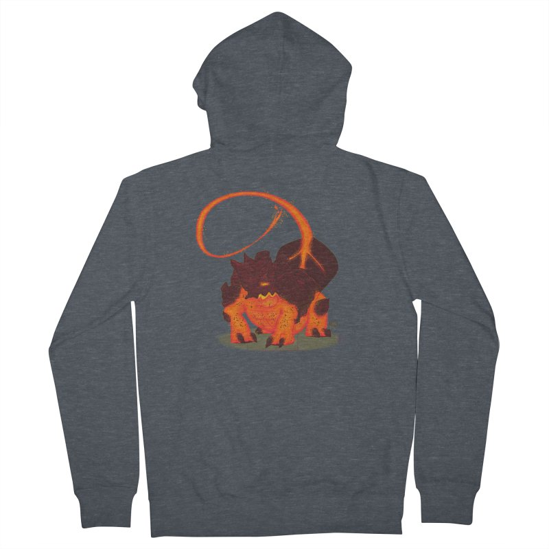 Lavahead Women's French Terry Zip-Up Hoody by March1Studios on Threadless
