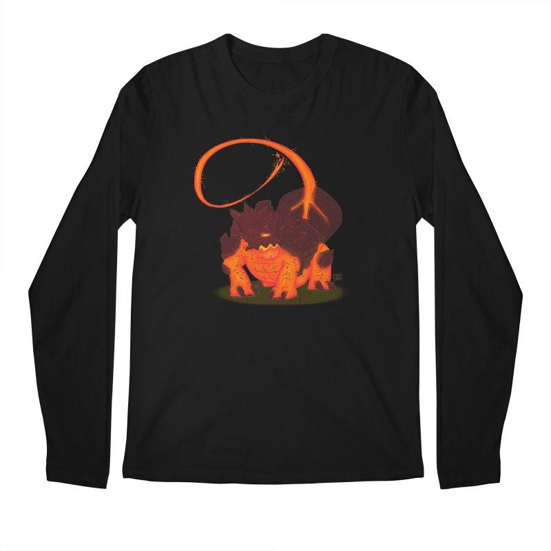 Lavahead Men's Regular Longsleeve T-Shirt by march1studios's Artist Shop