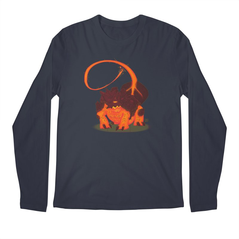 Lavahead Men's Longsleeve T-Shirt by march1studios's Artist Shop