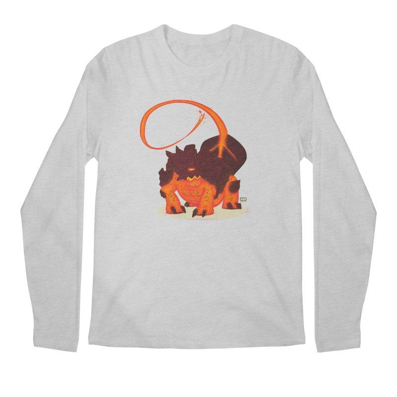 Lavahead Men's Longsleeve T-Shirt by march1studios's Artist Shop