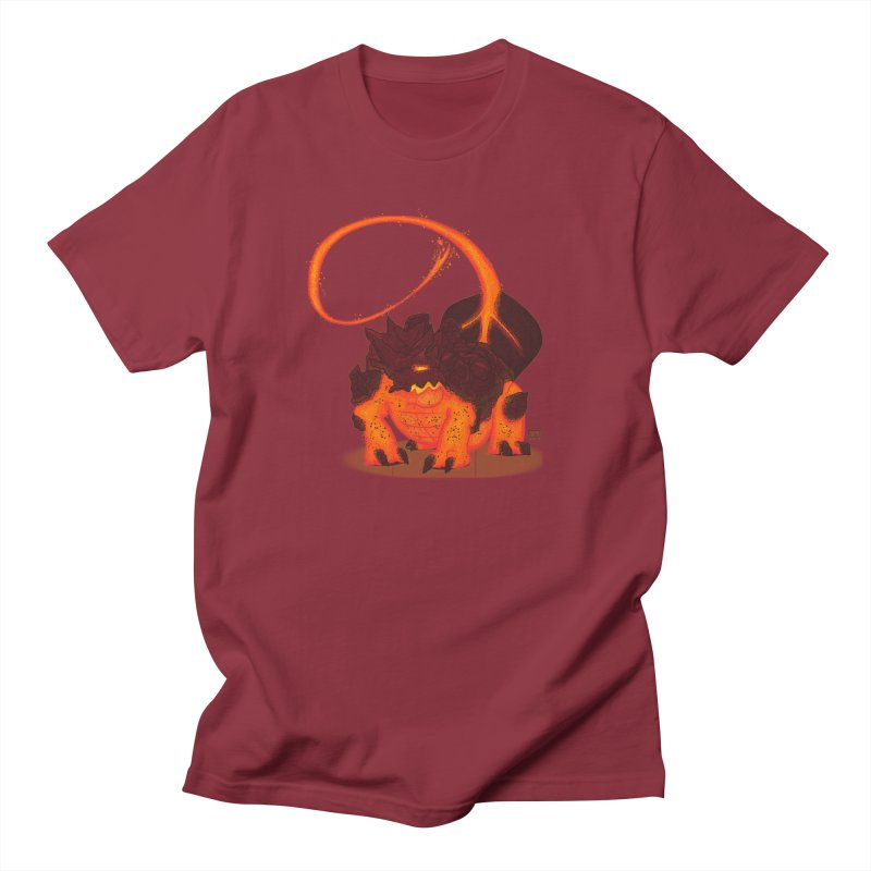 Lavahead Men's T-shirt by march1studios's Artist Shop
