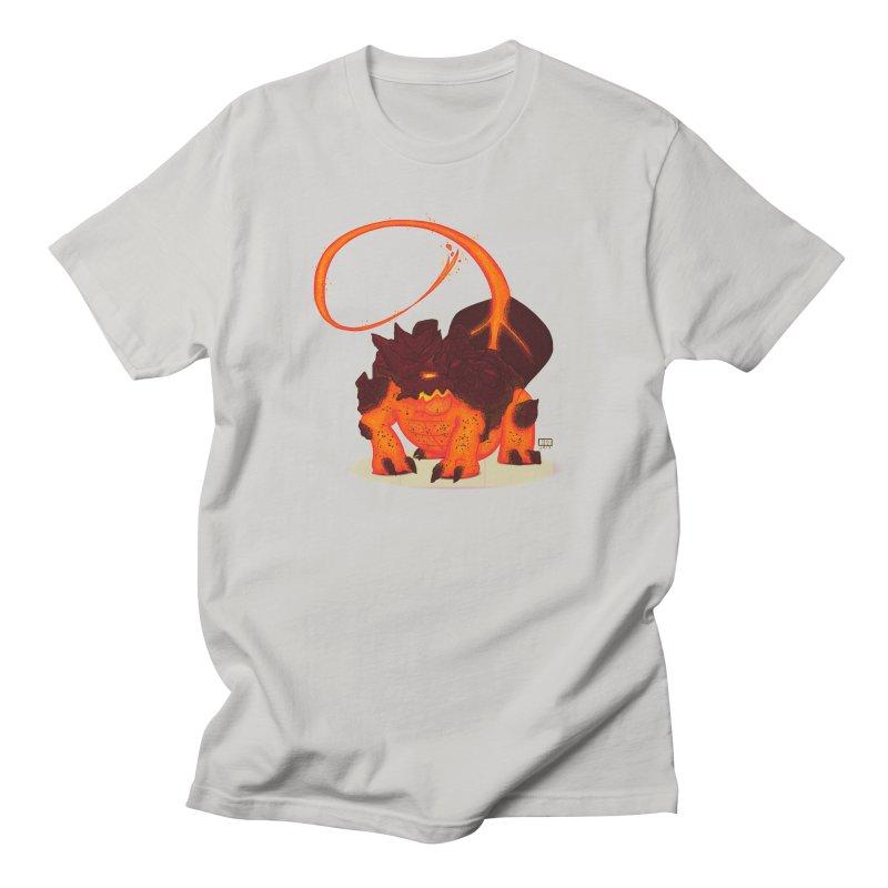 Lavahead Men's T-shirt by march1studios's Artist Shop