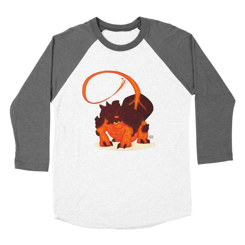 Lavahead Women's Baseball Triblend Longsleeve T-Shirt by march1studios's Artist Shop
