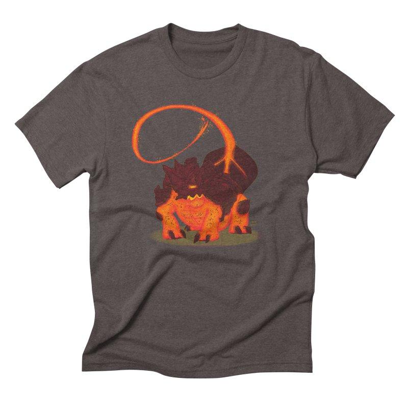 Lavahead Men's Triblend T-shirt by march1studios's Artist Shop
