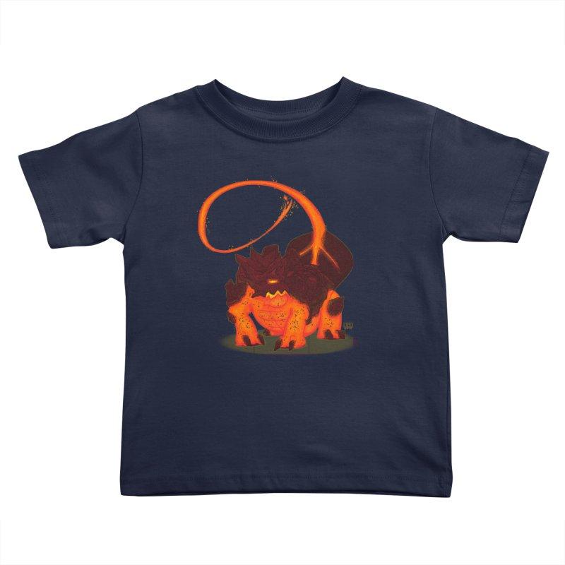 Lavahead Kids Toddler T-Shirt by march1studios's Artist Shop