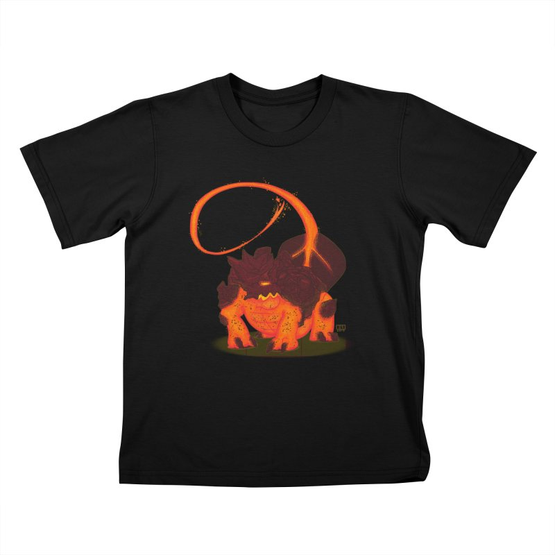 Lavahead Kids T-shirt by march1studios's Artist Shop