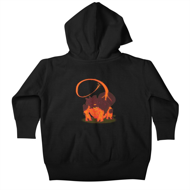 Lavahead Kids Baby Zip-Up Hoody by March1Studios on Threadless