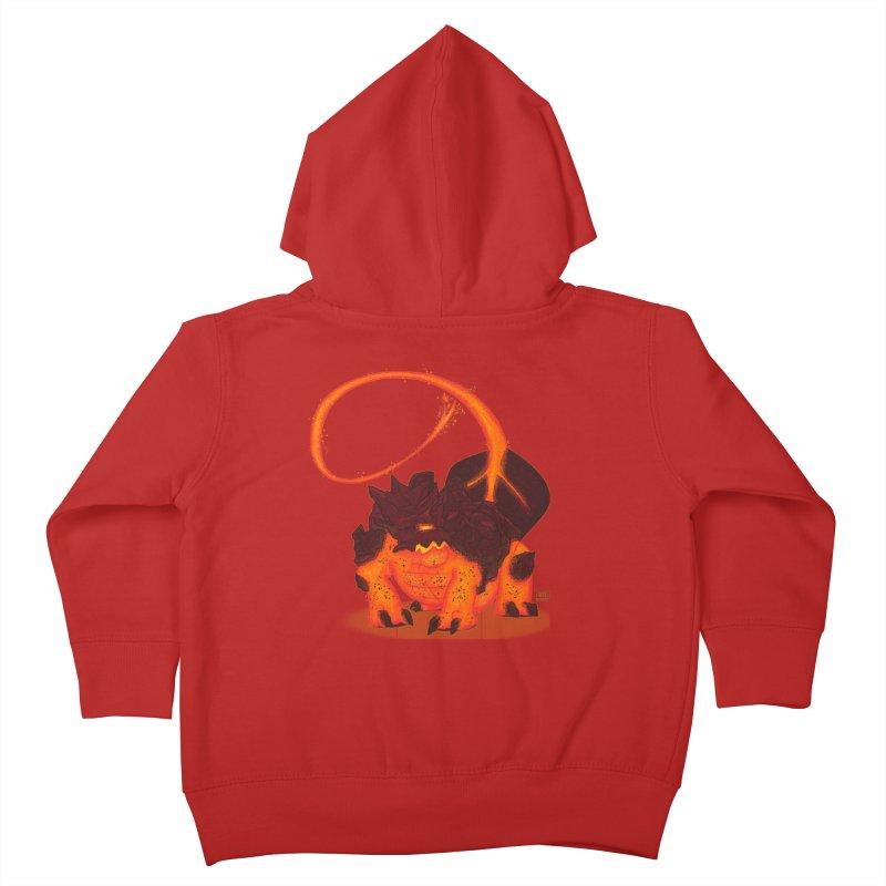 Lavahead Kids Toddler Zip-Up Hoody by march1studios's Artist Shop