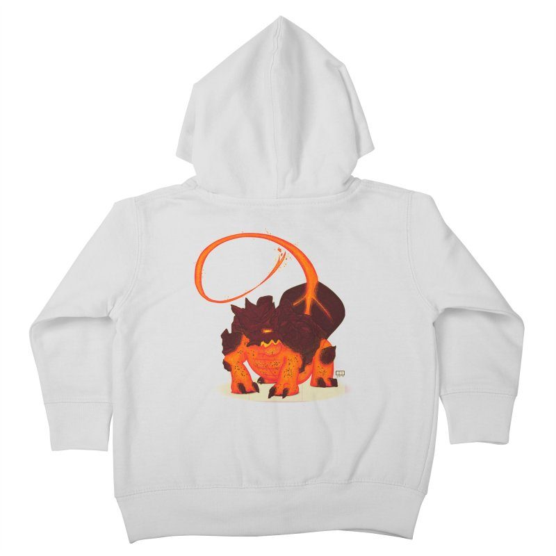 Lavahead Kids Toddler Zip-Up Hoody by March1Studios on Threadless