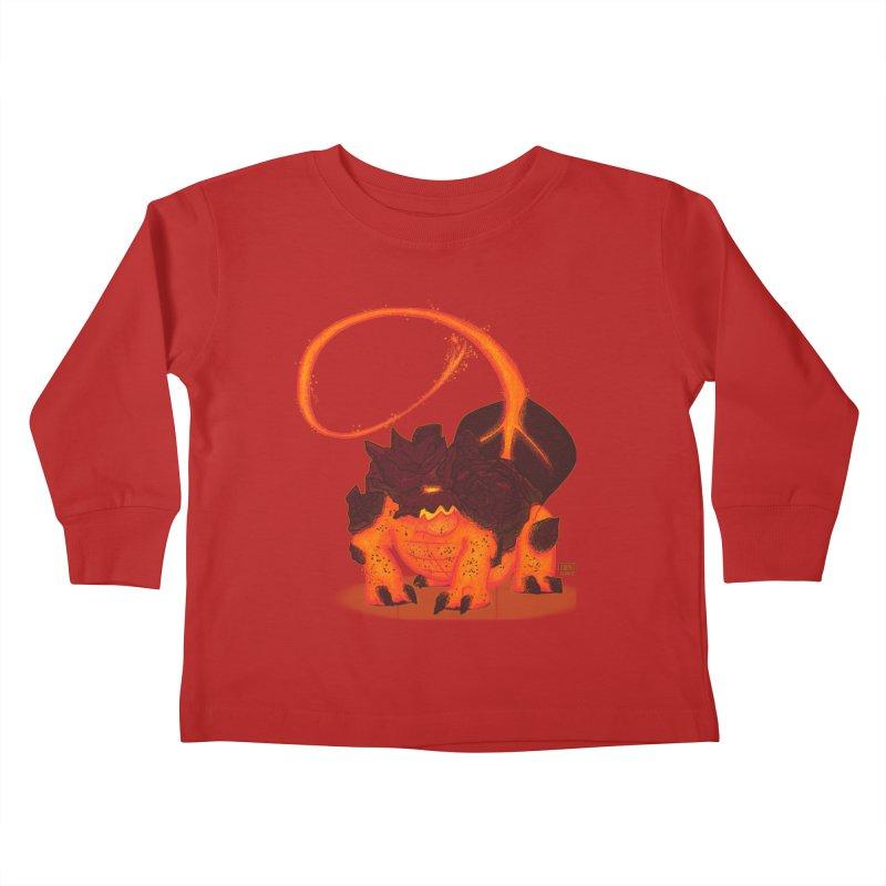 Lavahead Kids Toddler Longsleeve T-Shirt by march1studios's Artist Shop