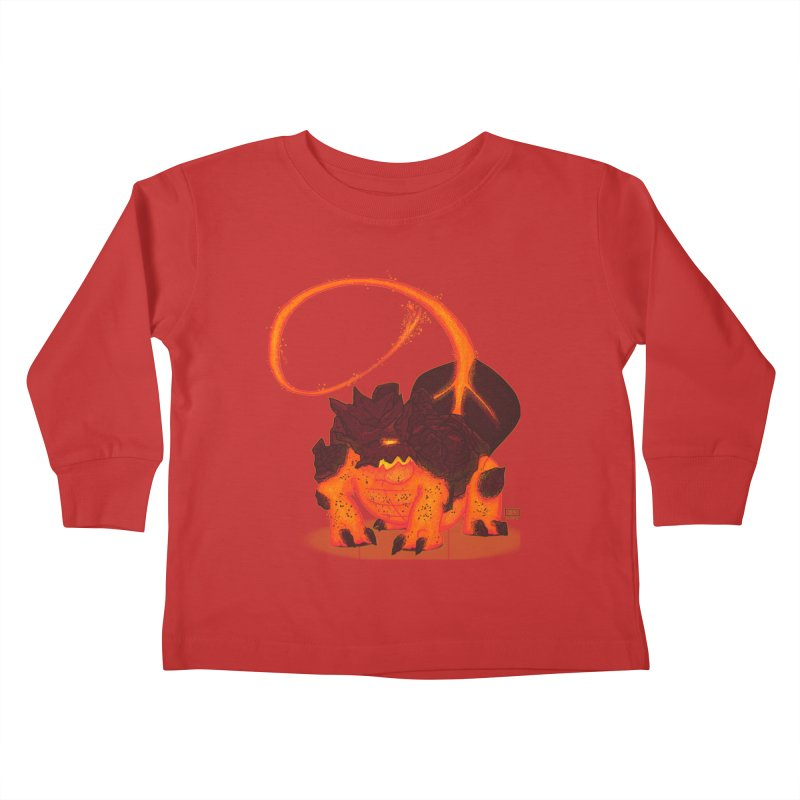 Lavahead Kids Toddler Longsleeve T-Shirt by march1studios's Artist Shop