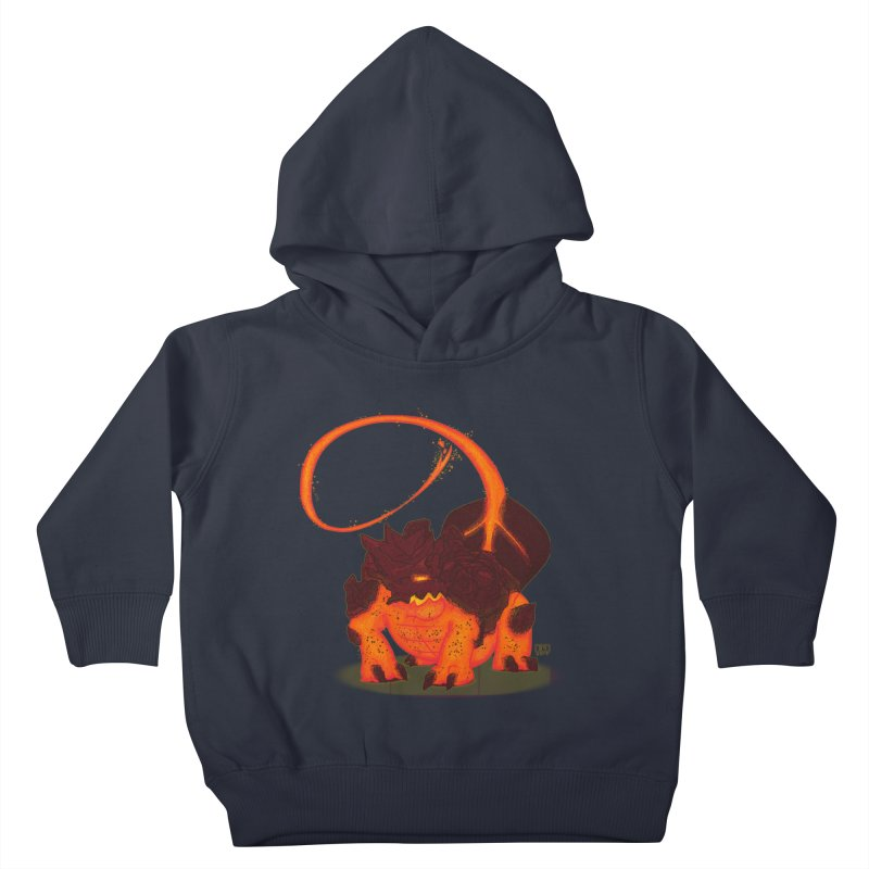 Lavahead Kids Toddler Pullover Hoody by march1studios's Artist Shop