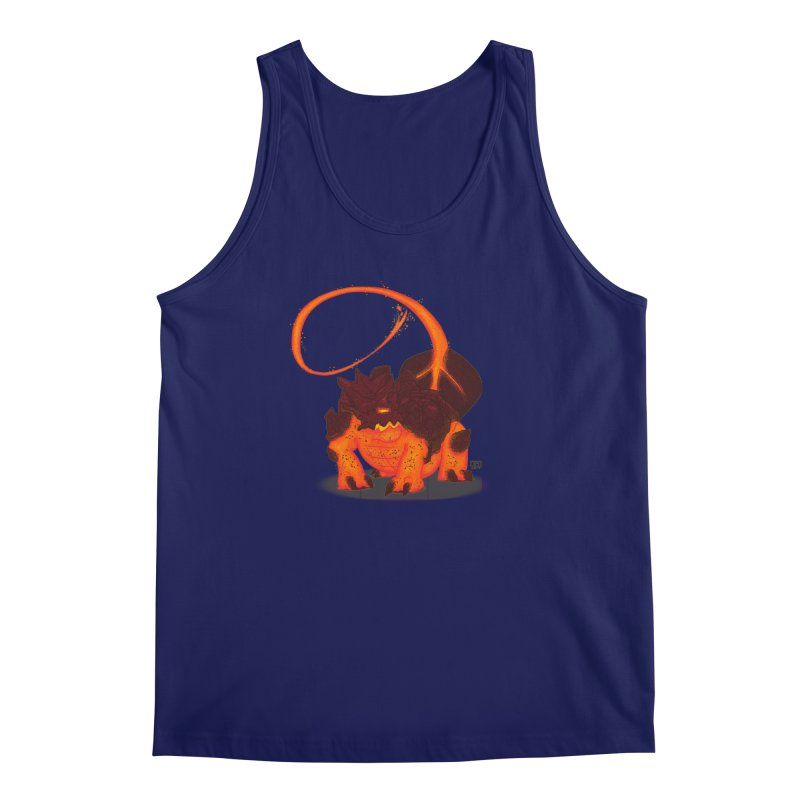 Lavahead Men's Tank by march1studios's Artist Shop