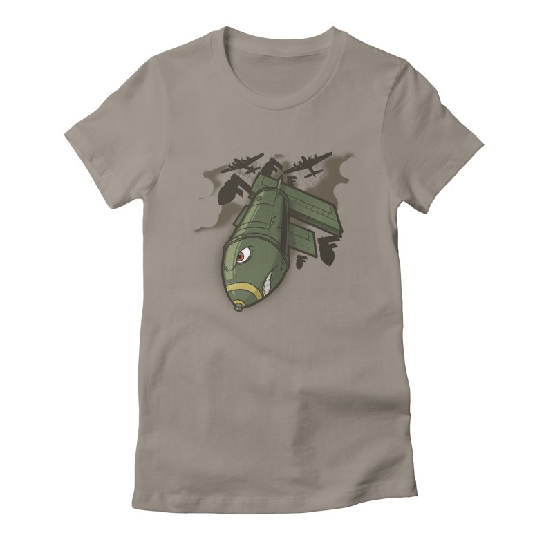 """Here Comes The """"F"""" Bomb Women's T-Shirt by March1Studios on Threadless"""