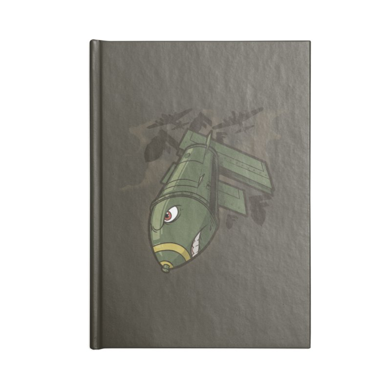 "Here Comes The ""F"" Bomb Accessories Notebook by march1studios's Artist Shop"
