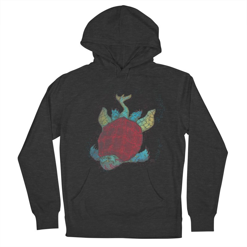 The Colossus Red Testudine Women's Pullover Hoody by march1studios's Artist Shop