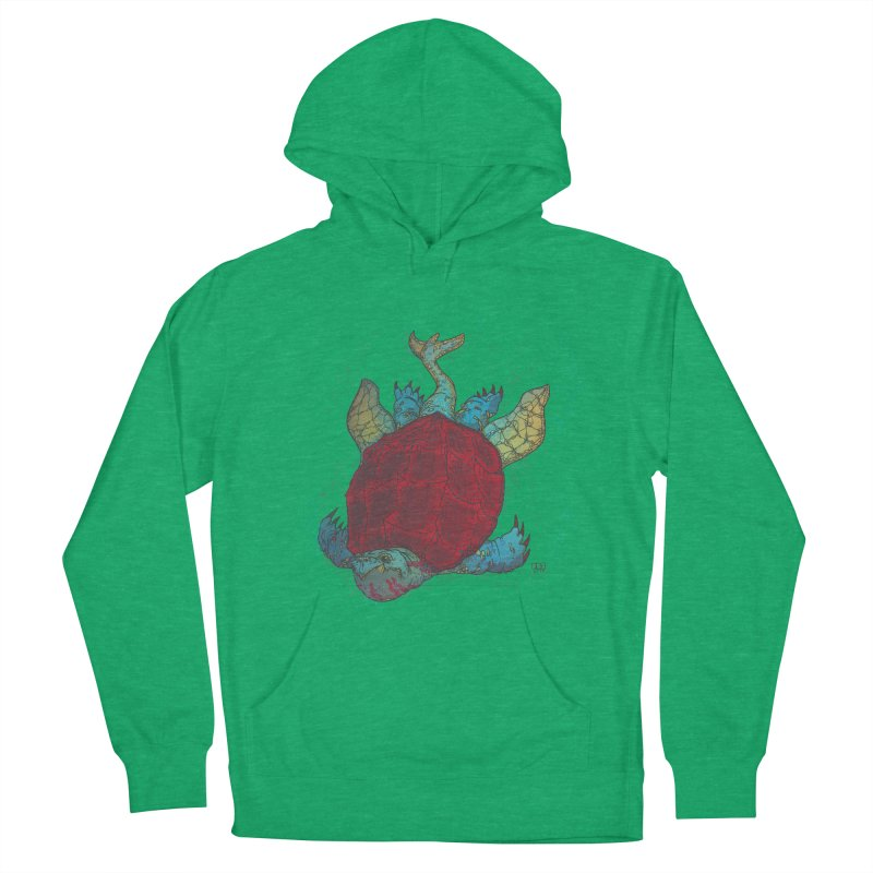 The Colossus Red Testudine Men's Pullover Hoody by march1studios's Artist Shop
