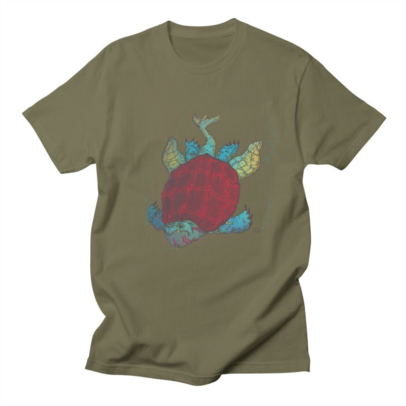 The Colossus Red Testudine Women's Unisex T-Shirt by march1studios's Artist Shop