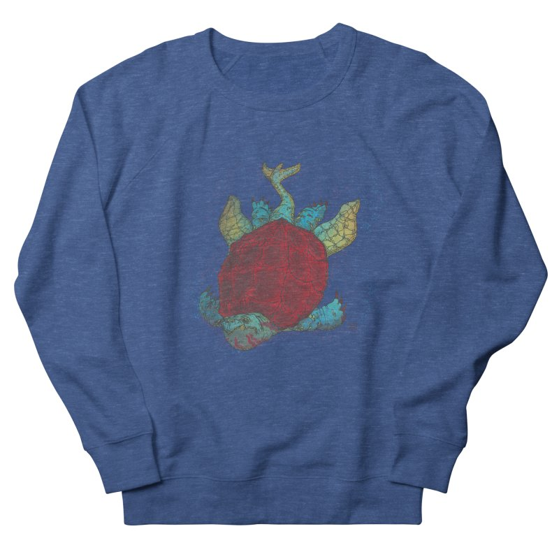 The Colossus Red Testudine Women's Sweatshirt by march1studios's Artist Shop