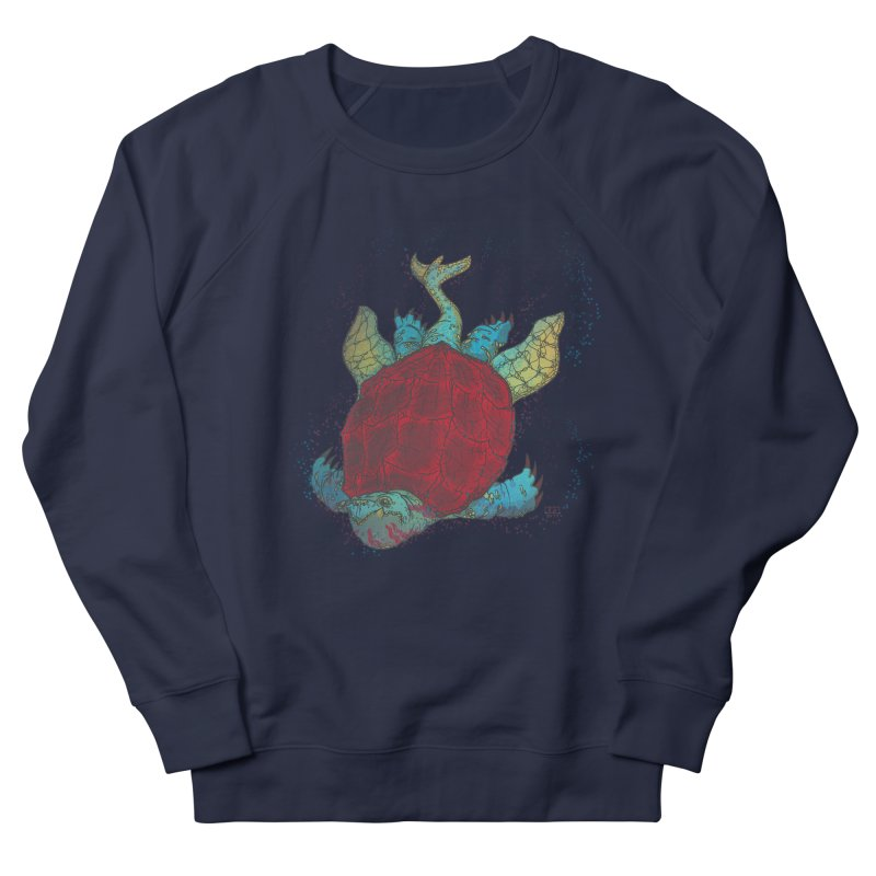 The Colossus Red Testudine Men's Sweatshirt by march1studios's Artist Shop