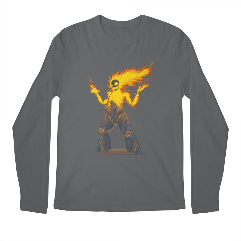 The Firelord Men's Longsleeve T-Shirt by march1studios's Artist Shop