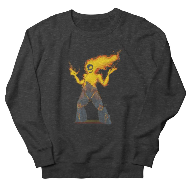 The Firelord Men's Sweatshirt by march1studios's Artist Shop