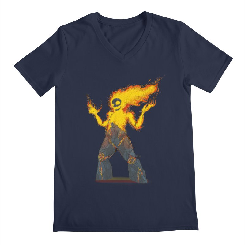 The Firelord Men's V-Neck by march1studios's Artist Shop