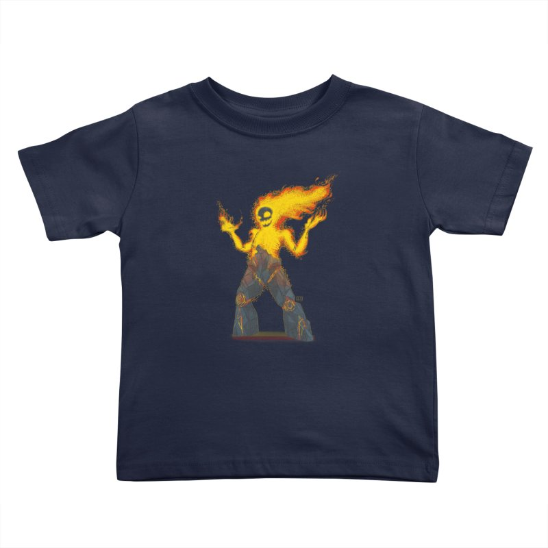The Firelord Kids Toddler T-Shirt by march1studios's Artist Shop