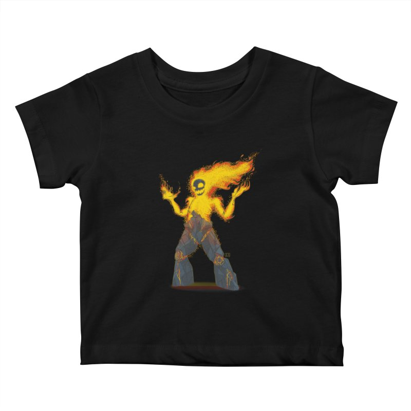 The Firelord Kids Baby T-Shirt by march1studios's Artist Shop