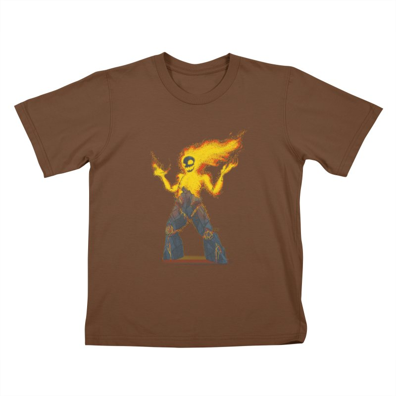 The Firelord Kids T-shirt by march1studios's Artist Shop