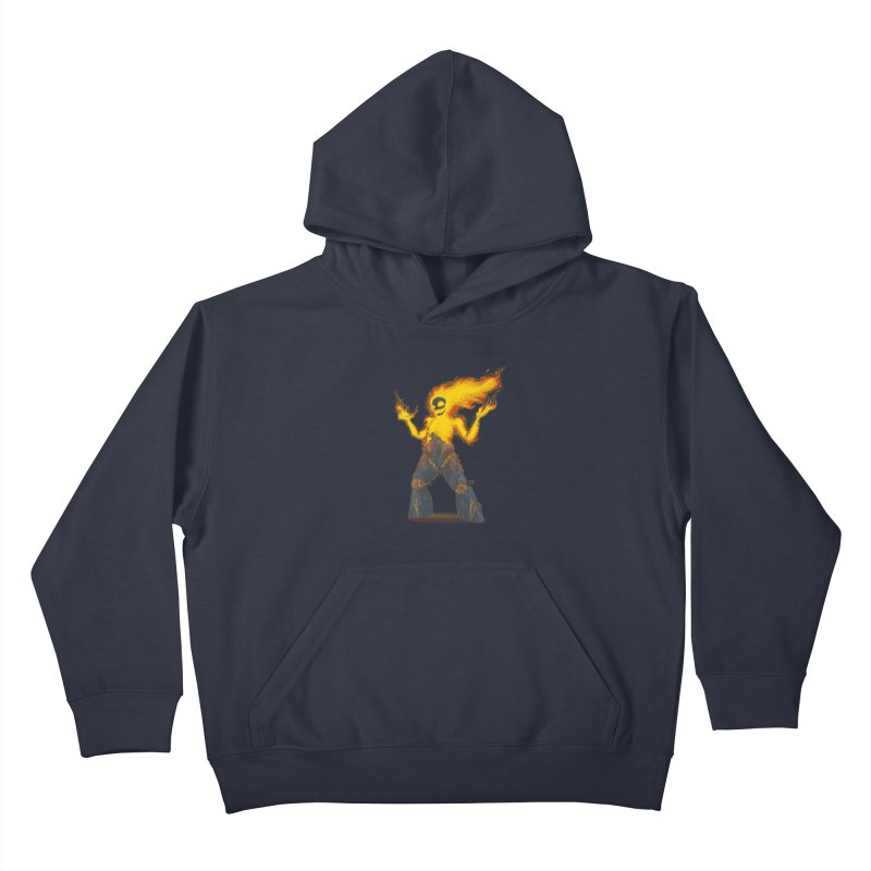 The Firelord Kids Pullover Hoody by march1studios's Artist Shop
