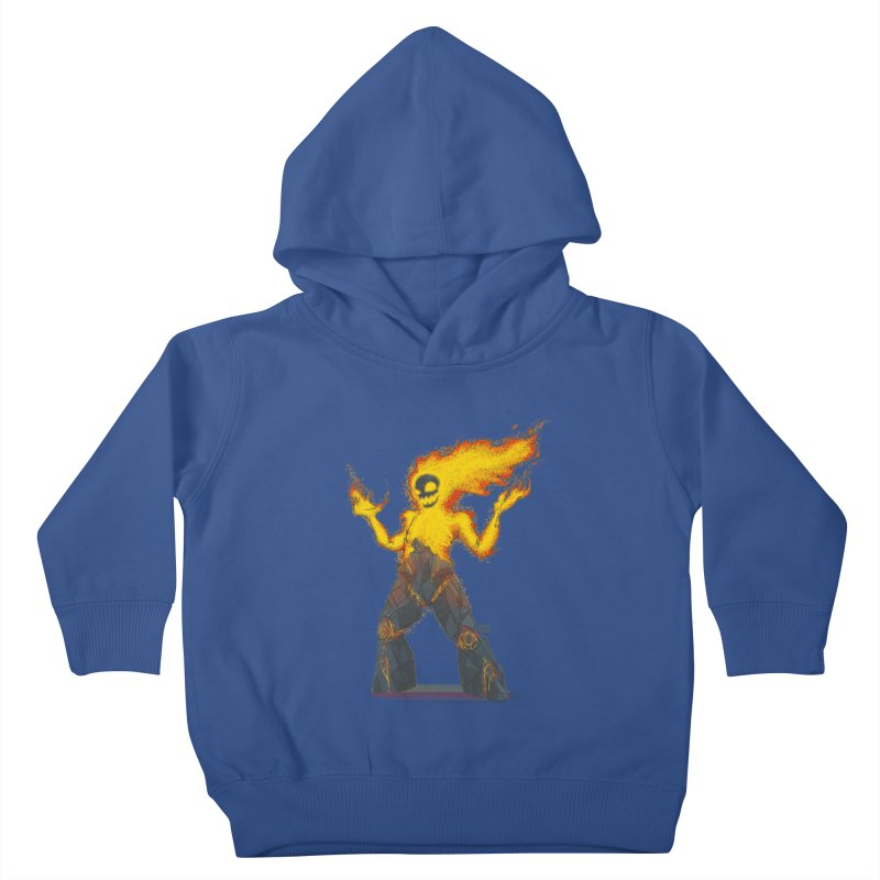 The Firelord Kids Toddler Pullover Hoody by march1studios's Artist Shop