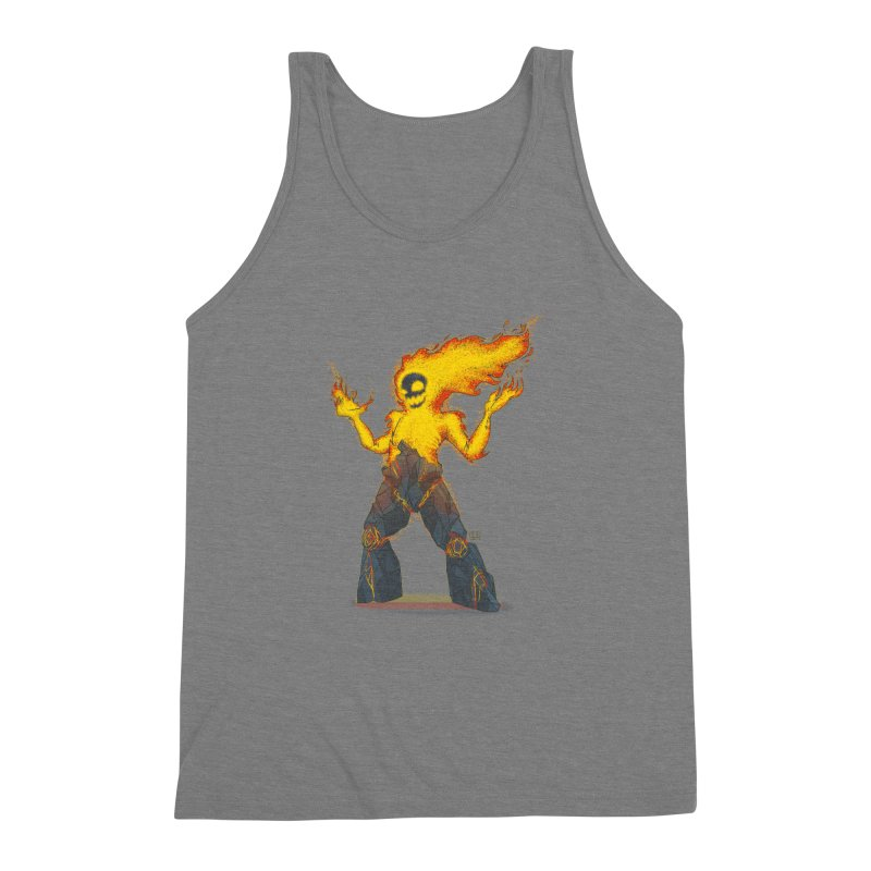 The Firelord Men's Triblend Tank by march1studios's Artist Shop