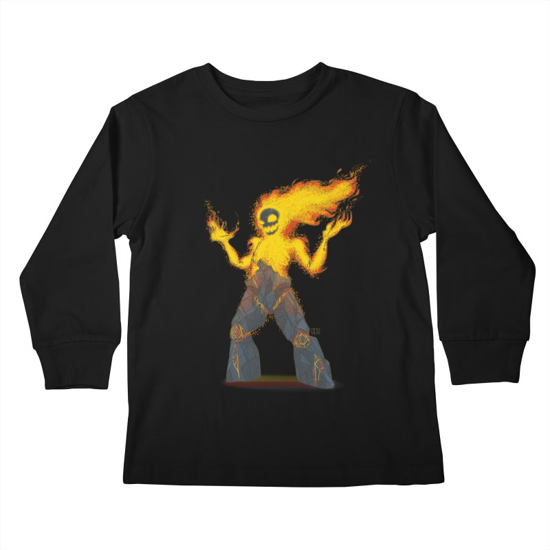 The Firelord Kids Longsleeve T-Shirt by march1studios's Artist Shop
