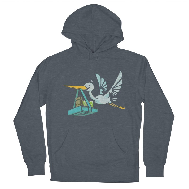 Where Food Babies Come From  Men's Pullover Hoody by march1studios's Artist Shop
