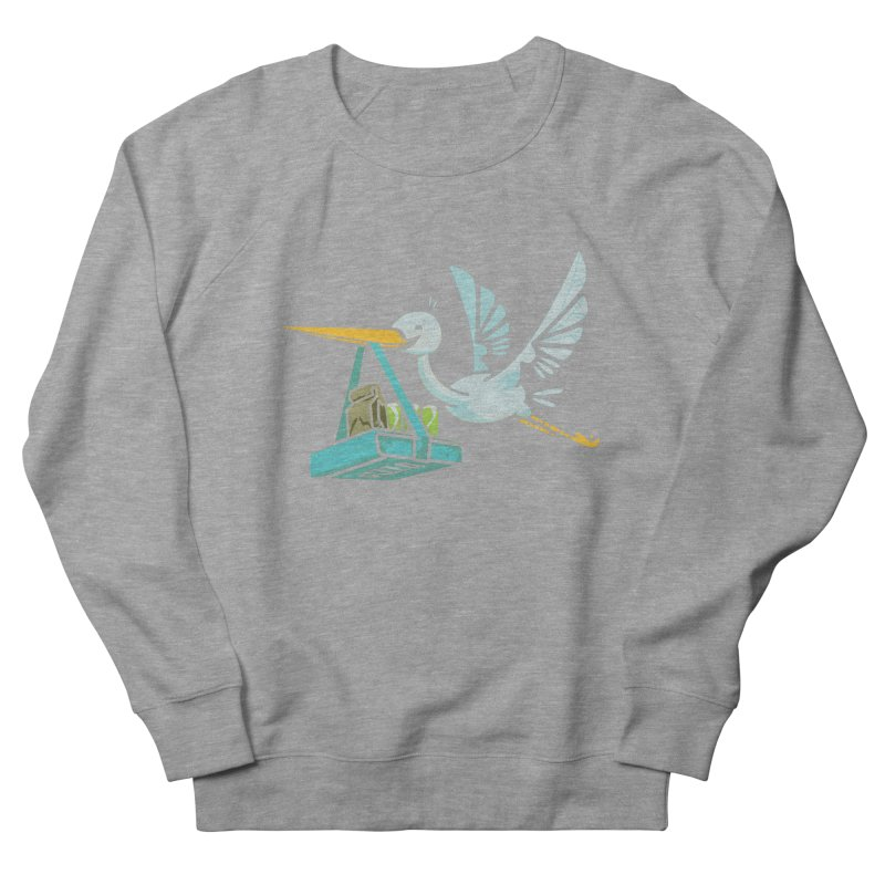 Where Food Babies Come From  Women's Sweatshirt by march1studios's Artist Shop