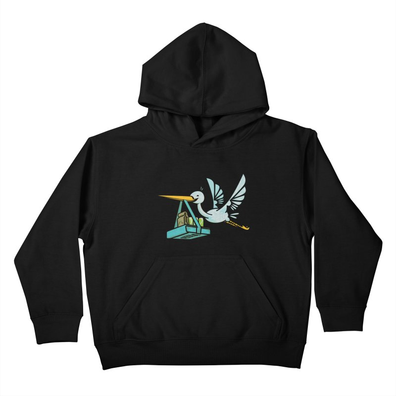 Where Food Babies Come From  Kids Pullover Hoody by march1studios's Artist Shop