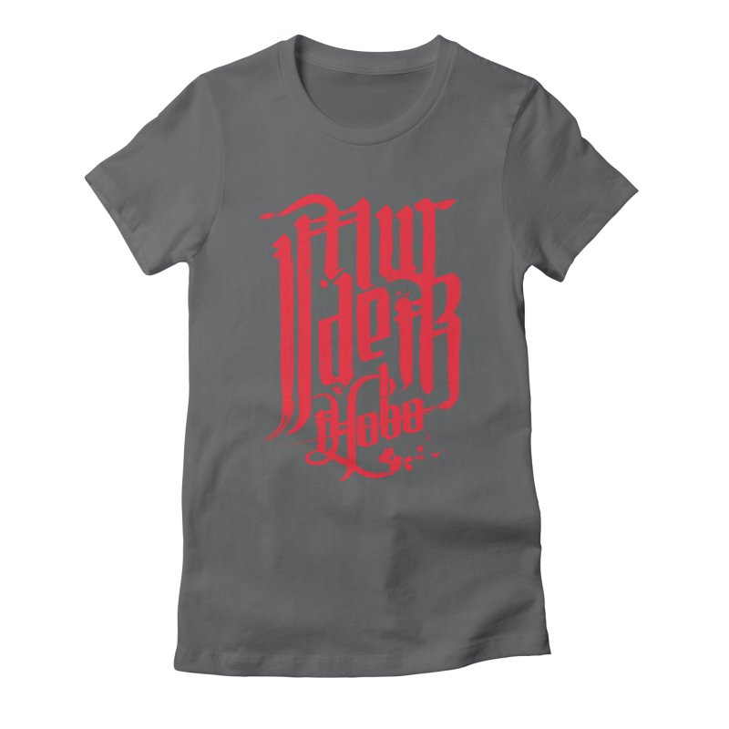 Murder Hobo Women's Fitted T-Shirt by march1studios's Artist Shop
