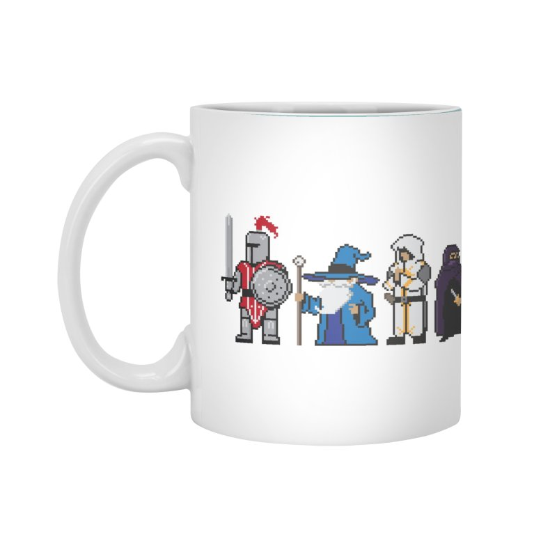 This Is How We Party | 80's RPG Accessories Mug by march1studios's Artist Shop