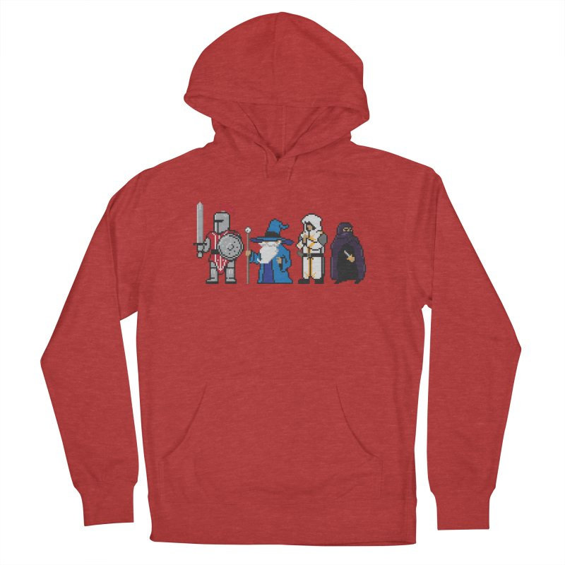 This Is How We Party | 80's RPG Women's Pullover Hoody by march1studios's Artist Shop